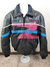 Vtg POLARIS Indy Storm Hein Gericke Racing Leather Snowmobile Mens Jacket Coat L