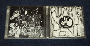 RUDIMENTARY PENI (2)CD Death Church + The E.P.'s Of R.P. Outer Himalayan RP RARE
