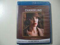 Changeling (Blu-ray Disc, 2009) Brand New and Sealed