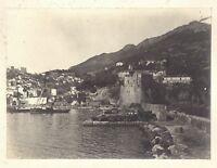 Ville A Identificare Italia? Francia? Fotografia n1 Vintage Analogica