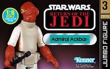 Star Wars 12' Admiral Ackbar Kenner Jumbo Action Figure GENTLE GIANT