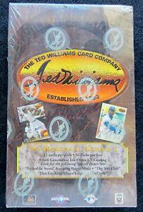 1994 TED WILLIAMS CARD COMPANY BASEBALL SEALED WAX BOX (36) 12 cards per pack