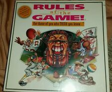 Rules of the Game! For those who THINK they know  NIP Board Game