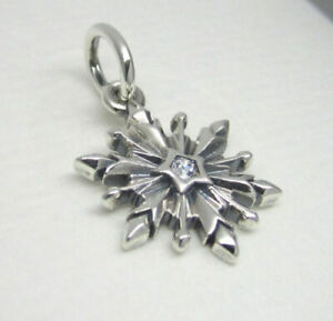 Genuine PANDORA Sterling Silver WINTER FROZEN SNOWFLAKE Charm 791564 S925 ALE
