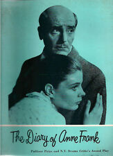 THE DIARY OF ANNE FRANK Theatre Program (1957)