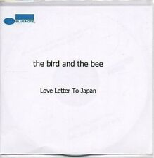 (AA346) The Bird & The Bee, Love Letter To Japan DJ CD