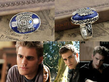 AU#4  1PC Size#9 The Vampire Diaries Damon salvatore Lapis Lazuli Ring Gift