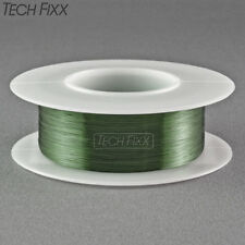 Magnet Wire 28 Gauge AWG Enameled Copper 250 Feet Coil Winding and Crafts Green