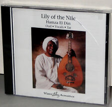 WATER LILY WLA-AS-11-CD: Lily Of The Nile - Hamza El Din - OOP USA 1990 SEALED