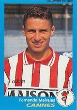 N°071 FERNANDO MEIRELES AS.CANNES VIGNETTE PANINI FOOTBALL 96 STICKER 1996