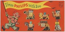 India - Philips vintage advertizement card