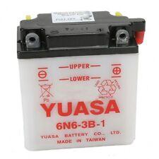 Batterie Moto Yuasa 6N6-3B-1 6V  6Ah pour  Yamaha XT 500 , 1983 - 1985