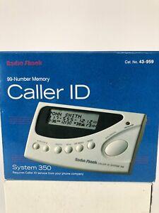 Radio Shack Caller ID System 350 43-959 New Open Box