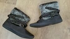 Blowfish Synthetic Leather Pull On Boots for Women