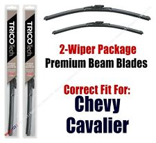1995-2005 Chevrolet Chevy Cavalier Wipers 2pk Upgrade Beam Blades - 19220/19170