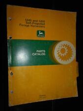 John Deere ensileuse 5440 & 5460 : parts catalog 1977
