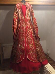 Bindalli Abendkleid Kaftan Kina Henna kleid Takchika Hürrem Model Mit Perlen