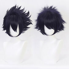 Anime Cartoon Characters Amajiki Tamaki Purple Wig Hair Fans Cosplay Exhibiti_gu