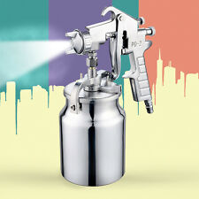 Paint Painting Spray Gun Air Sprayer Heavy Duty 2.0mm Nozzle Suction Feed 1L Pot