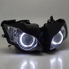 Fully Assembly Headlight HID White Angel Eye  for Honda CBR1000 2008-2011 2010
