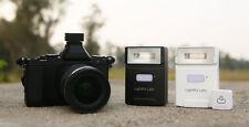 FlashQ Q20 flash with radio control for Nikon, Canon Olympus BLACK BLACK VERSION