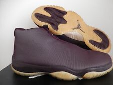NIKE AIR JORDAN FUTURE FOOTSCAPE DEEP BURGUNDY-GOLD SZ 9.5 [656503-670]
