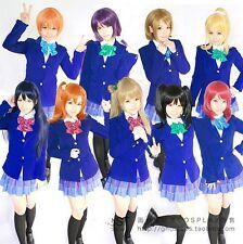 New Love Live Kousaka Honoka Yazawa Niko Nishikino Maki Uniform Cosplay Costume