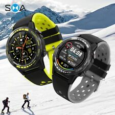 Smart Watch GPS Men Women 2020 Compass Barometer Altitude Full Touch Fitness