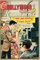 Hollywood Romances #48-1968 fn 6.0 3 Romance stories Charlton Vince Colletta