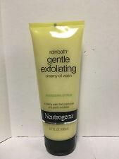 Neutrogena Rainbath Creamy Oil Wash, Gentle Exfoliating, Energizing Citrus - 6.7