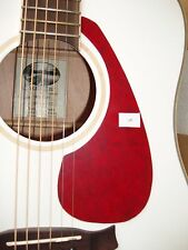 Acoustic Guitar Scratch Plate Pickguard self adhesive size shown. # 5 LARGE TEAR