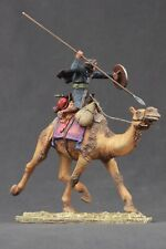 Tin toy soldiers painted 54 mm battle camel