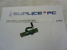 HP Dv9000 9500 9700 pcb carte Led et bouton wifi