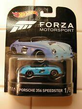 Hot Wheels Forza Motorsports Real Riders ~Porsche 356 Speedster~ New! Unopened!