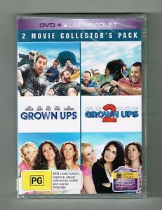 Grown Ups / Grown Ups 2 Dvd (2-Movie Collection) 2-Disc Set - Brand New & Sealed
