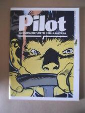 PILOT Rivista Fumetti n°10 1985 Sicomoro IL Teschio di Cristallo  [G329-1]