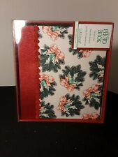 "CR Gibson Deluxe Holiday Photo Book 7.5"" x 6.75"" NEW  Acid Free Mini Scrap Book"
