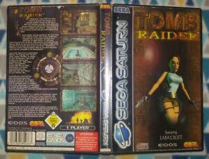 Tomb Raider Sega Saturn Pal España