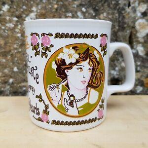 Vintage Mug Kilncraft 'Boots Pearl Toothpaste' 1970/80s Retro Kitsch Shabby Chic