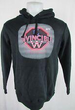 UFC Men Invincible Chris Weidman MMA Men's Pullover Graphic Hooded Sweatshirt