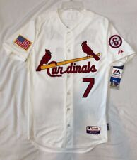 Majestic 40 MEDIUM, ST LOUIS CARDINALS MATT HOLLIDAY, ON FIELD COOL BASE JERSEY