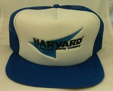 Harvard The American Granby Company Snapback Mesh Trucker Cap Hat Patch NEW A
