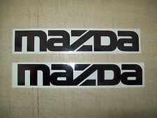 (2) Mazda Auto, Decalcomanie Adesivo, JMD Scherzo Divertente Finestrino Paraurti Specchietti retrovisori esterni