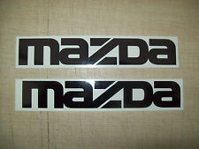 ( 2 ) MAZDA CAR,Decals Sticker, JMD JOKE FUN WINDOW BUMPER WING MIRRORS