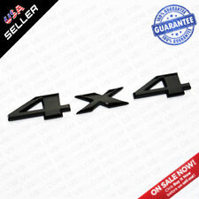 OEM ABS 4X4 Auto Car Logo Decal Emblem Sticker For Mopar Truck - Gloss Black