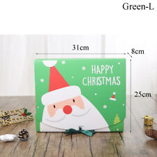 Christmas Gift Paper Box Favour Present Candy Wrapping Bag Home Party Eve Xmas