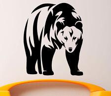 Grizzly Bear Wall Decal Vinyl Sticker Wild Animals Interior Art Decor (2bgr1)