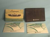 00 2000 Daewoo Leganza owners manual