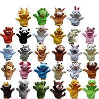 Animal Wildlife Hand Glove Puppet Soft Plush Puppets Kid Childrens Toy 12 Styles