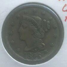 1846 Braided Hair Large Cent - N14 C6 R2